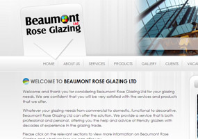 Beaumont Rose Glazing