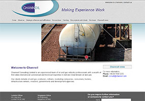 Channoil are oil and gas consultants offering oil consultancy services and independent oil consultants with midstream and downstream expertise