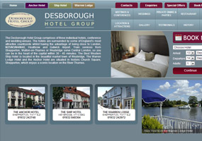 Desborough Hotels in Weybridge and Shepperton