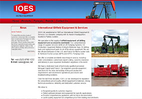 Oilfield equipment, oil drilling equipment and accessories supplied worldwide by IOES