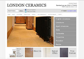 Natural stone flooring specialist offering a large range of premium quality limestone flooring tiles at the best prices